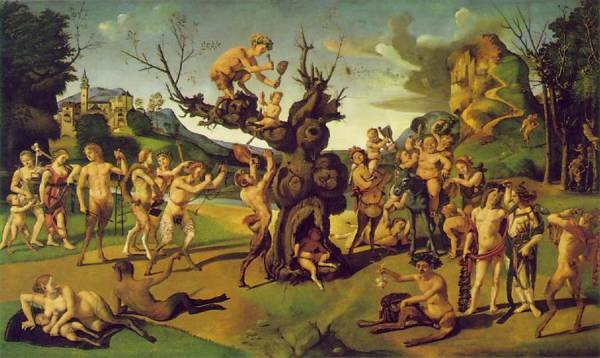 Piero di Cosimo The Discovery of Honey c1505 10